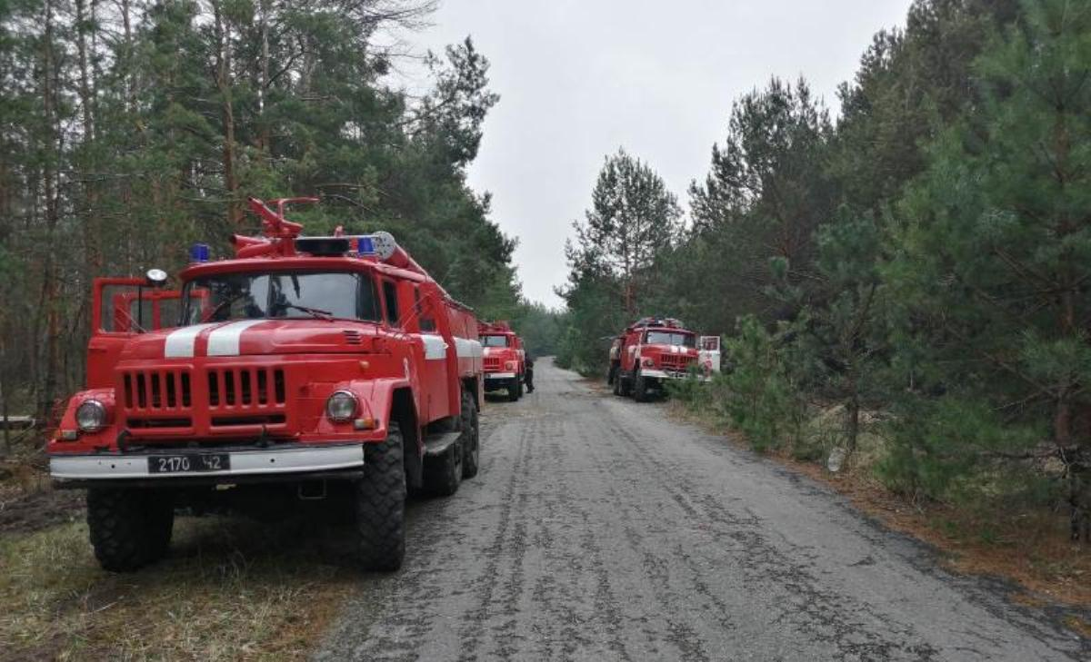 Всего на территории Зоны отчуждения привлечено 521 человек и 124 единиц техники