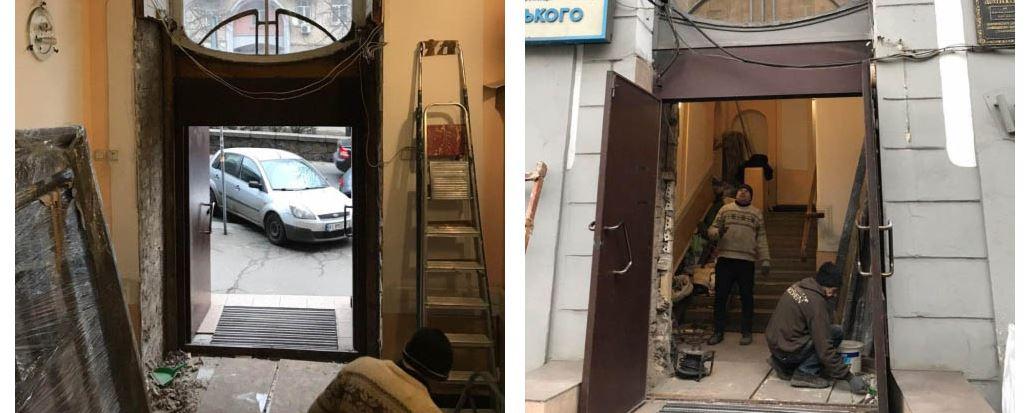 В студии снимали и сохранили все этапы реконструкции