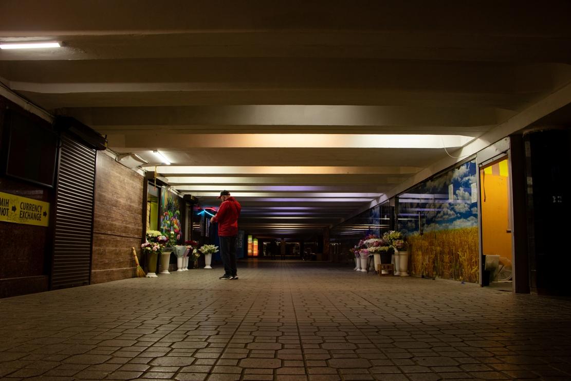 Подземный переход под Майданом