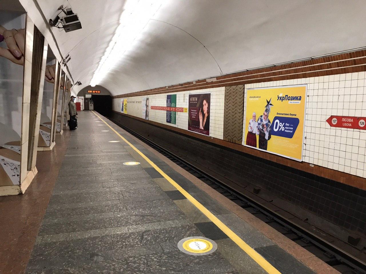 В первый день работы метро ажиотажа не было