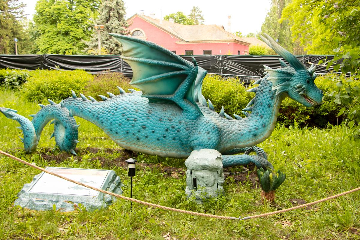 А это водный дракон