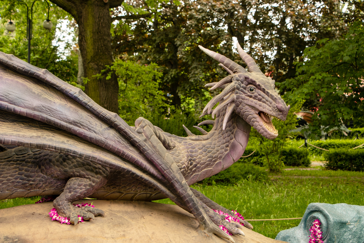 Все драконы интерактивные