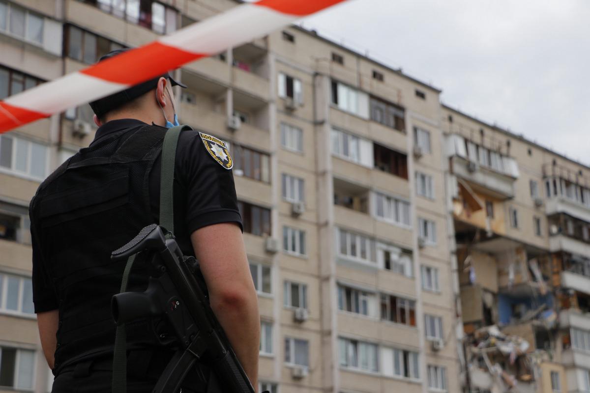 Взрыв произошел в доме на улице Соломии Крушельницкой